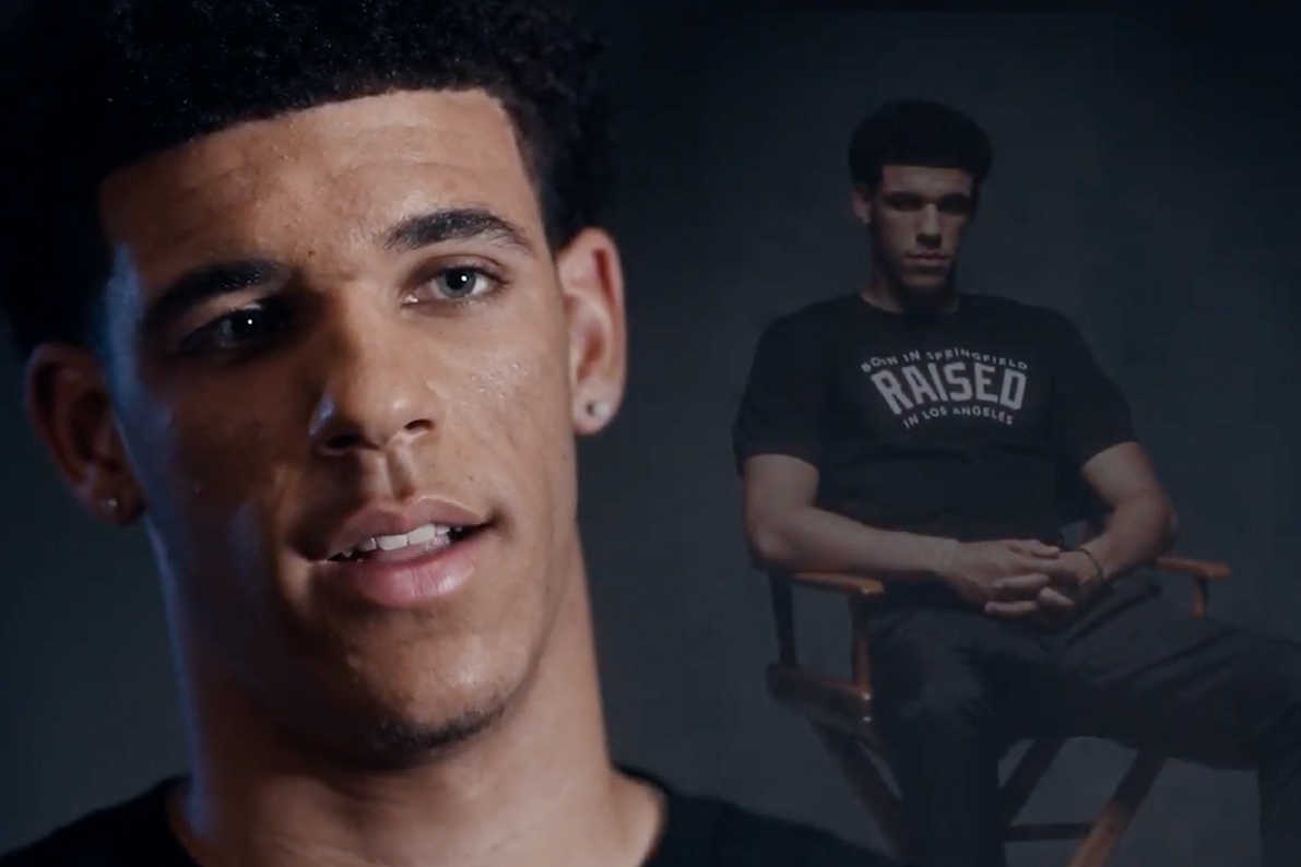 new style fcebc 298e2 Lonzo Ball Father's Day Foot Locker Commercial | HYPEBEAST