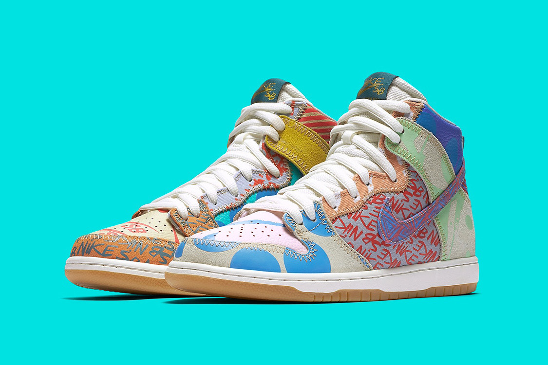 new concept 0042b fd82d ... Thomas Campbell x Nike SB Dunk High Pro  nike dunks tupac special  edition ...