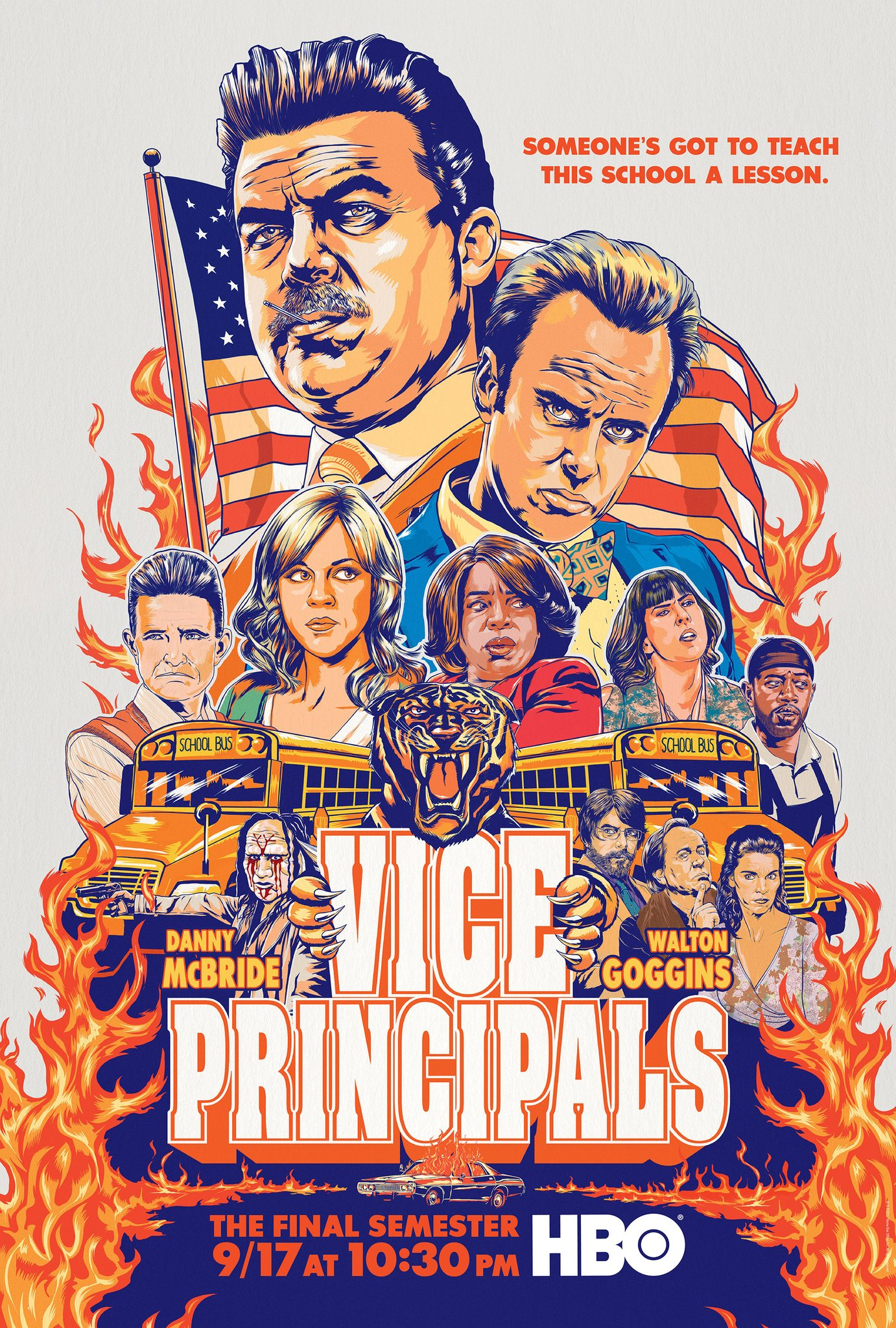 Vice Principals Season 2 Trailer HBO Danny McBridge Walton Goggins
