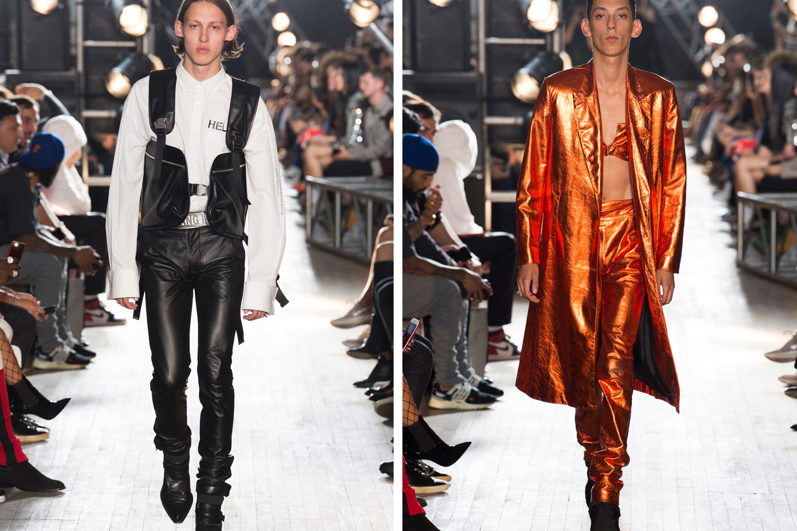 3f593426df55 Arguably one of the week's buzziest affairs, Helmut Lang's debut collection  at Shayne Oliver's design helm, and direction under the house's ...