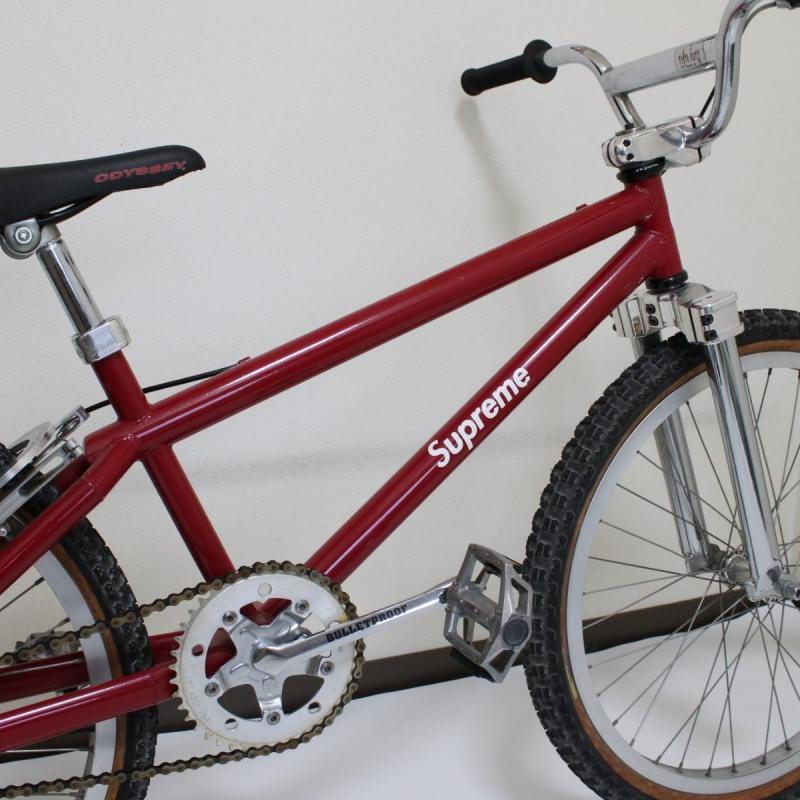 Supreme Brooklyn Machine Works BMX Bike collaboration rare sale 5 million yen japan hiroshima 47000 usd resell vintage