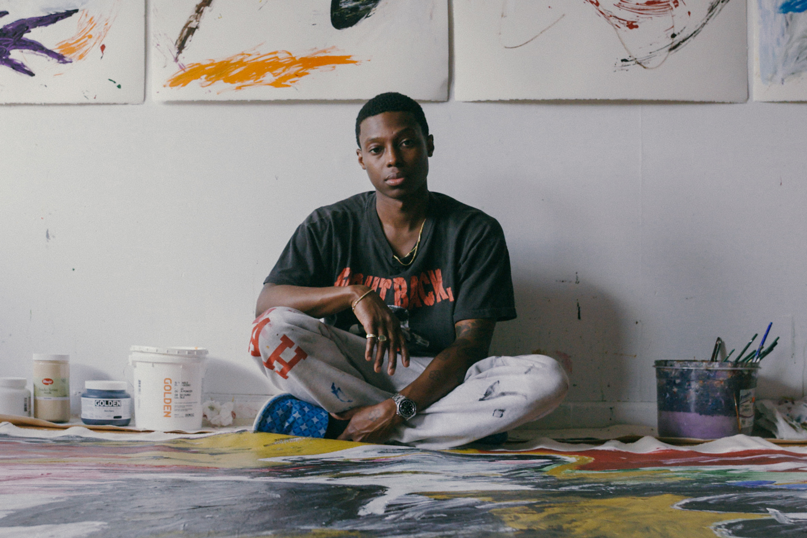 How Reginald Sylvester II Went From Designing Streetwear to Success in the Fine Art World