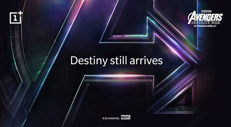 OnePlus 6 Avengers Infinity War Phone india disney marvel exclusive launch release date smartphone theme april 2018