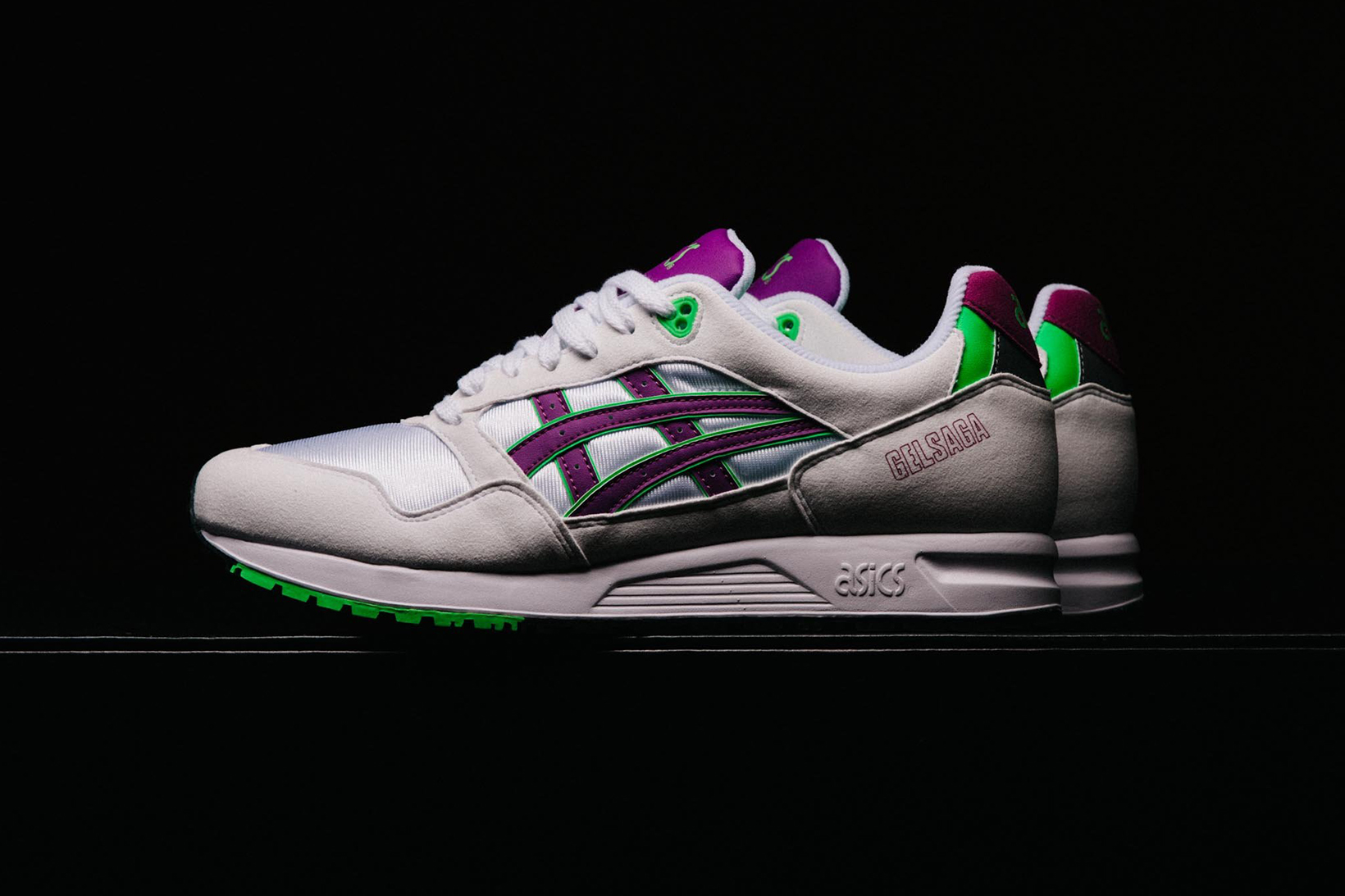 ASICS GEL Saga Summer 2018 Pack white blue orchid may release date info drop sneakers shoes footwear politics