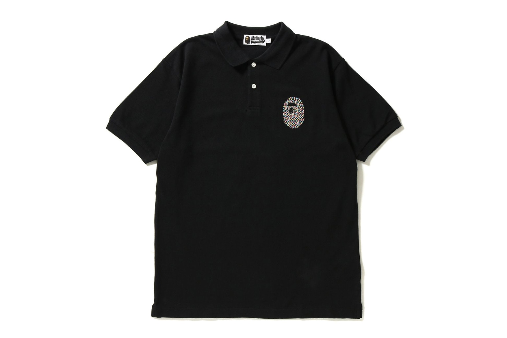BAPE Swarovski Large Ape Head Polo