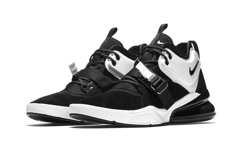 best website 30987 4e353 Nike Air Force 270 Black/White