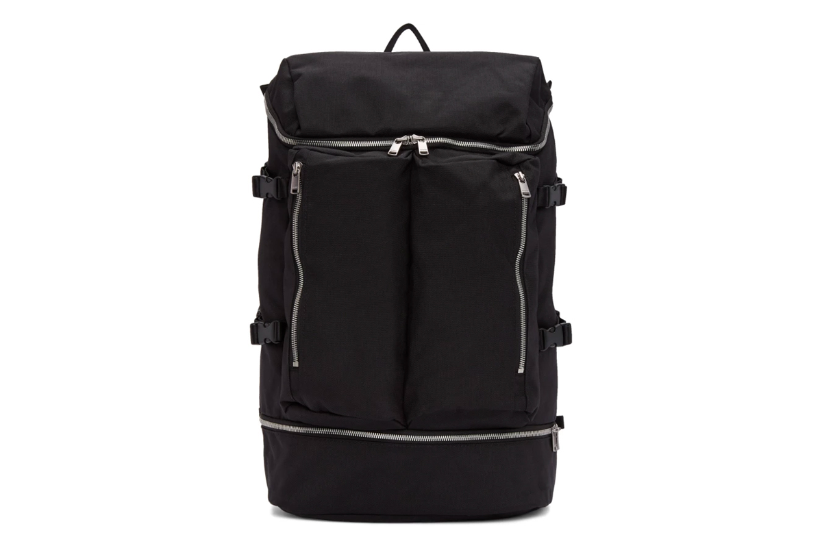 nonnative Spring Summer 2018 Tourist Backpack black release info bags accessories