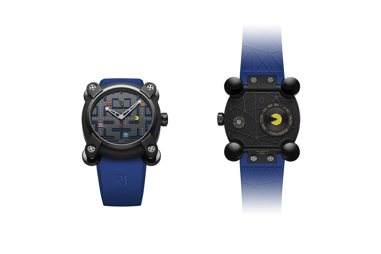 ROMAIN JEROME pac man level 3 iii watch collaboration timepiece luxury handmade pvd titanium 80 pieces limited edition june 2018 drop release