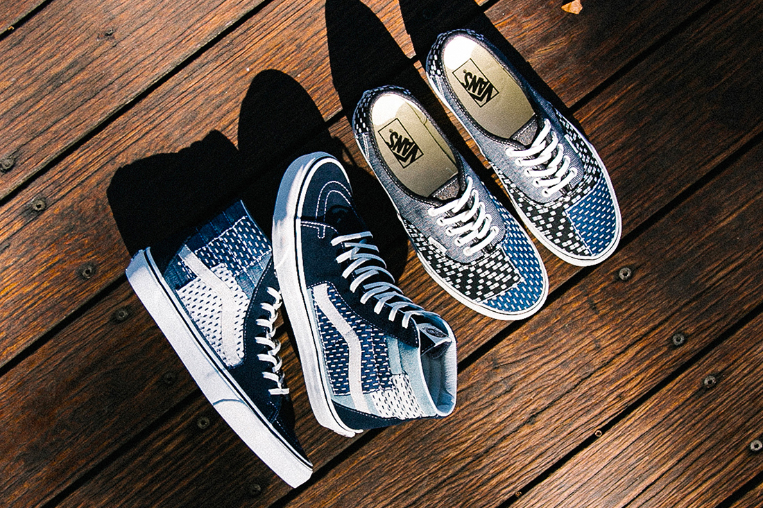"Vans Sk8-Hi Authentic ""Japanese Boro"" patchwork denim Release date price"