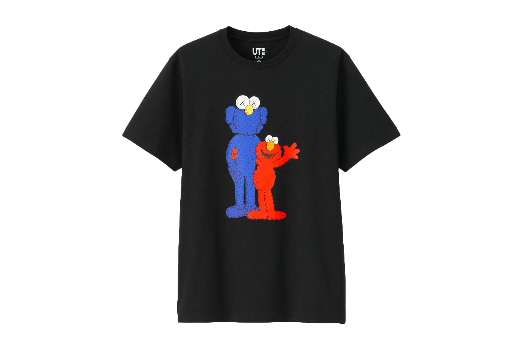 KAWS x Uniqlo UT 'Sesame Street' T-Shirt Collection