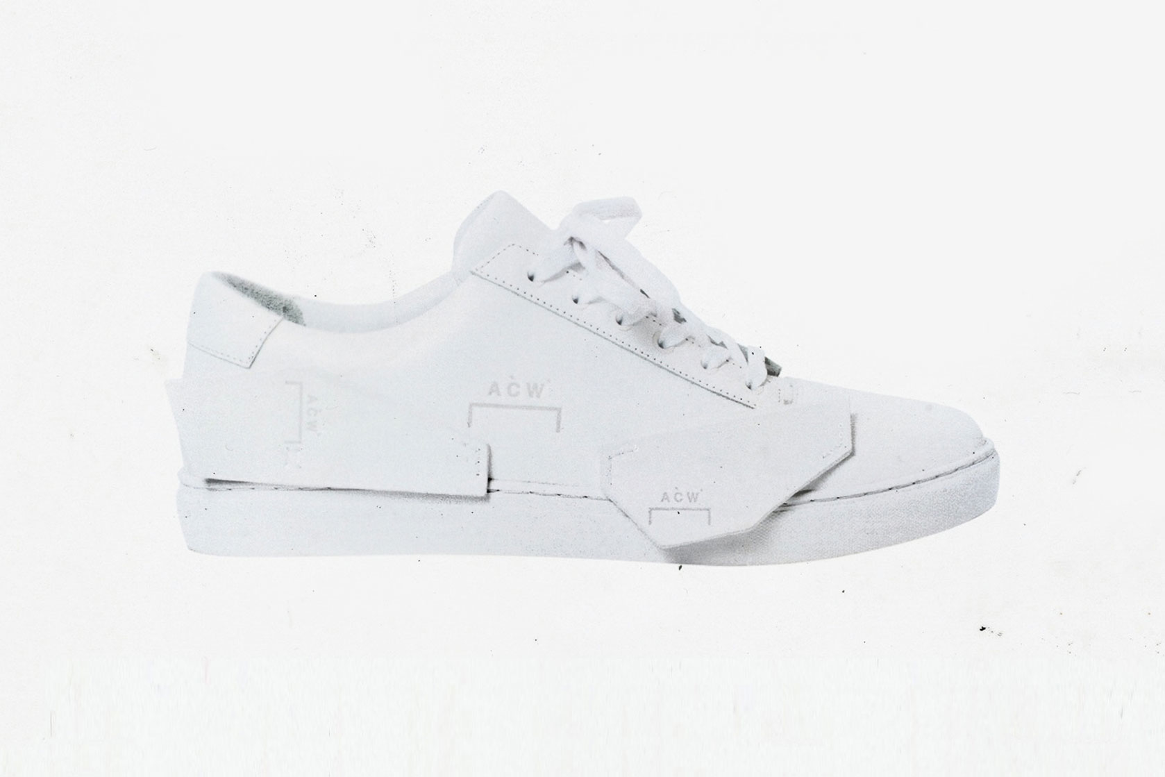 A-COLD-WALL* Shard Low Sneaker shoe footwear Optic White release date announce reveal style independent unique 205 eur 240 usd info drop