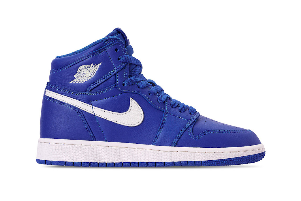 7c2a22ed304437 Air Jordan 1 Retro High OG He Got Game Official Look Hyper Royal Blue sail  colorway
