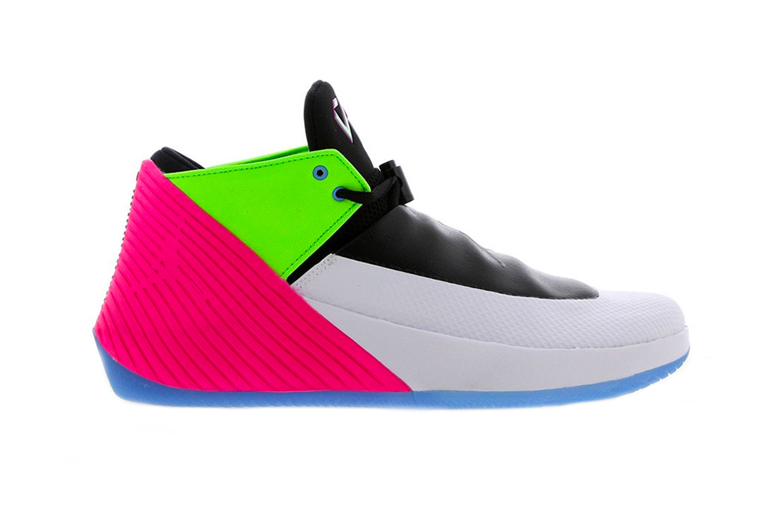 Jordan Why Not Zer0.1 Low Colorway Quai 54 White pink green blue basketball tournament paris