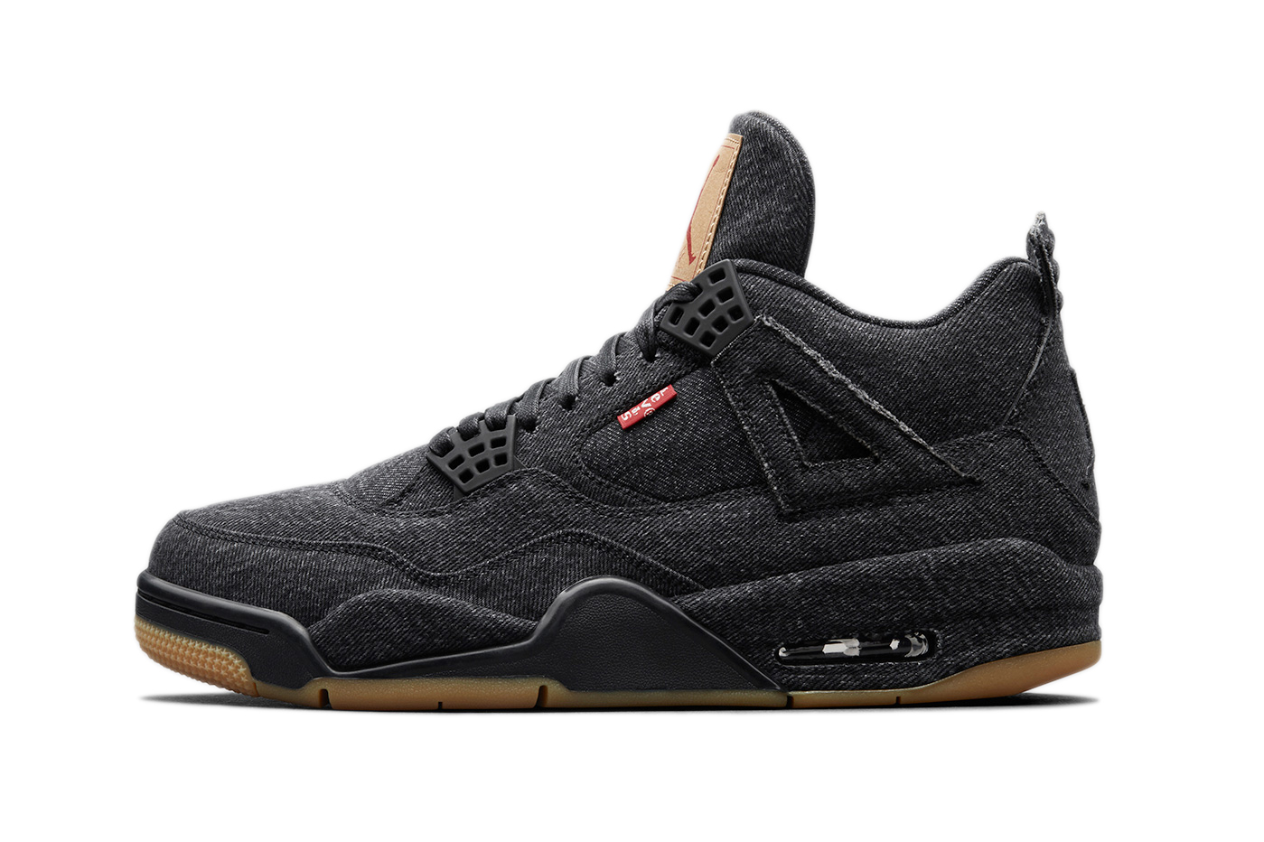 Levi's® x Air Jordan 4 Black & White