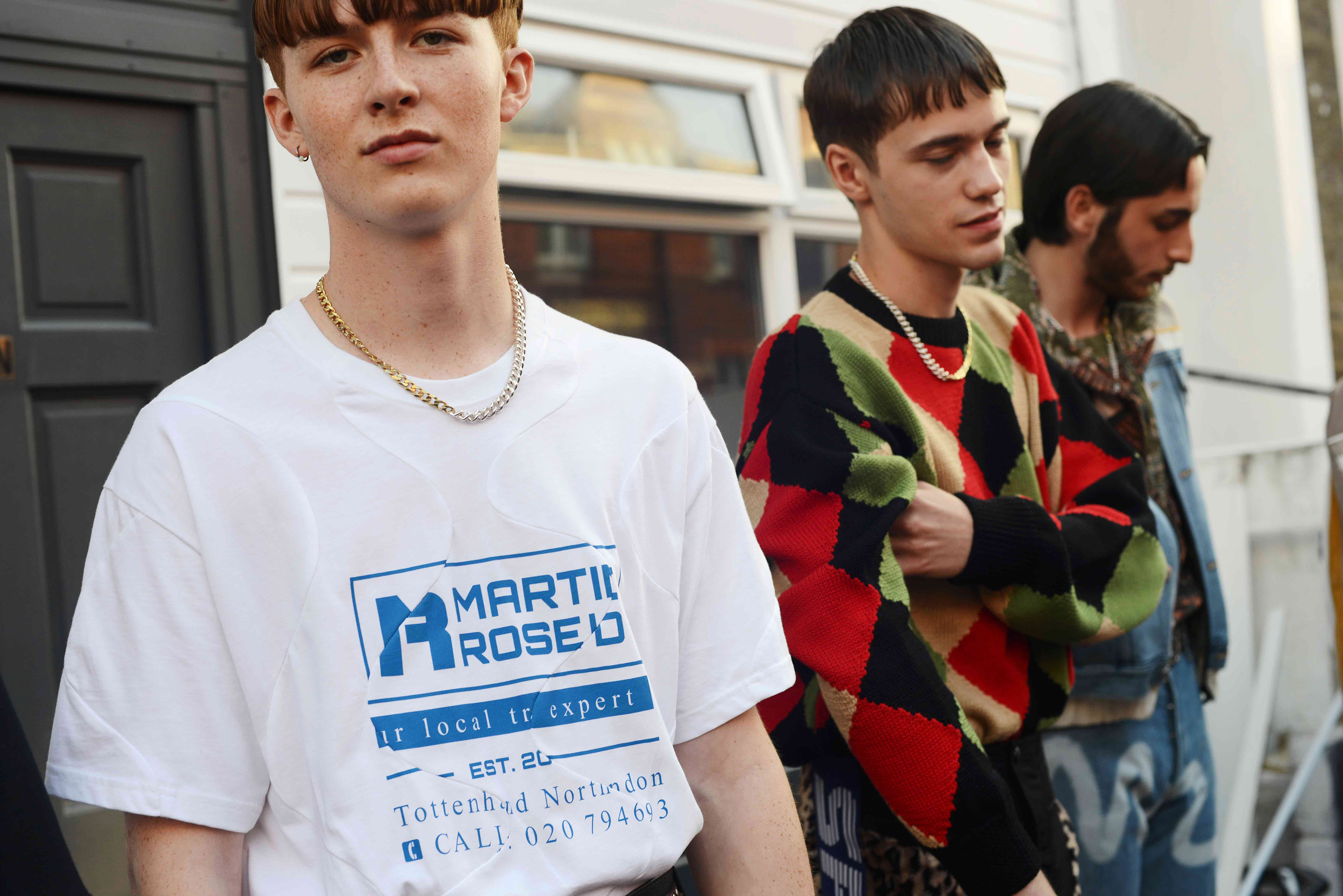 Martine Rose Balenciaga Napapijri London Fashion Week Mens Interview Behind The Scenes Backstage Spring/Summer 2019 2018 Fall/Winter Collection Closer Look Details In Depth