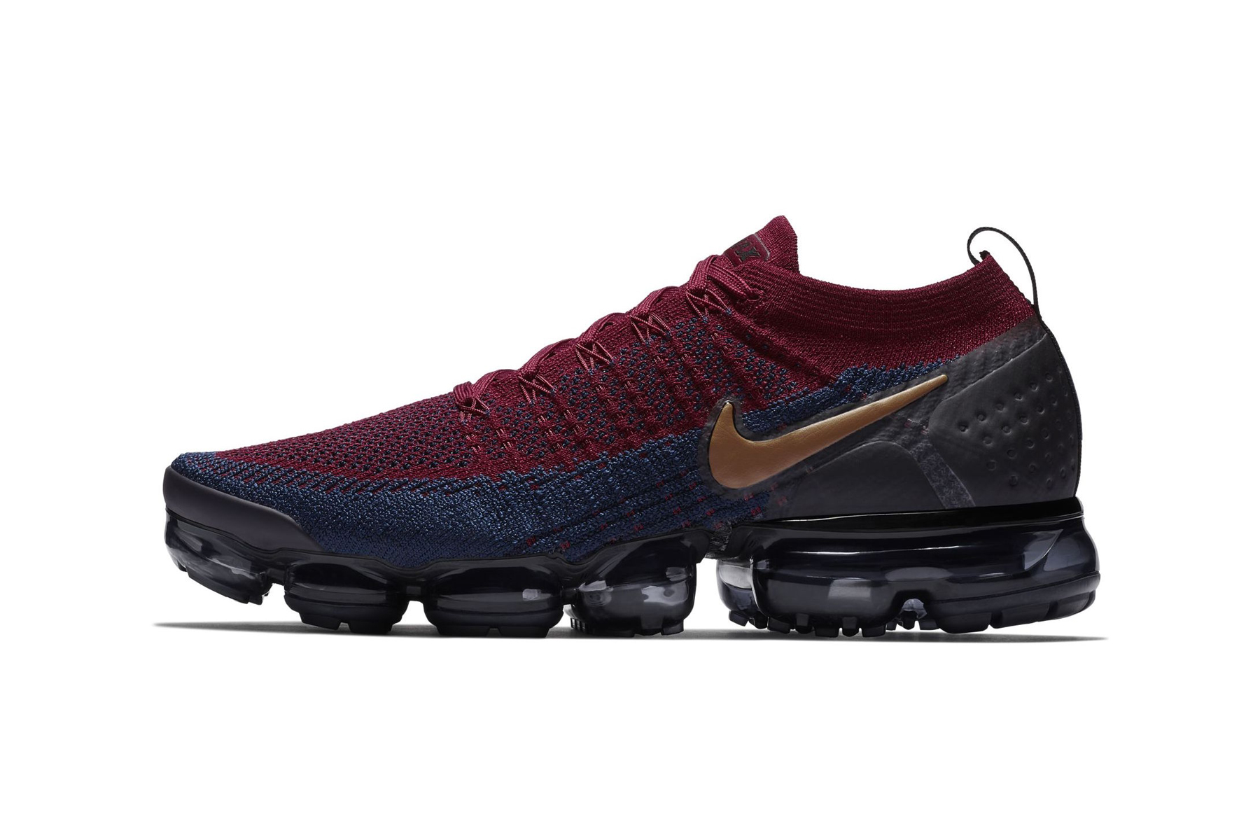 Nike Air VaporMax 2 Burgundy Navy First Look official release date info sneakers