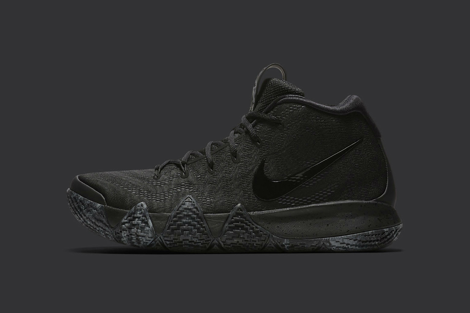 Nike Kyrie 4 Triple Black july 14 2018 release date info drop sneakers shoes footwear irving