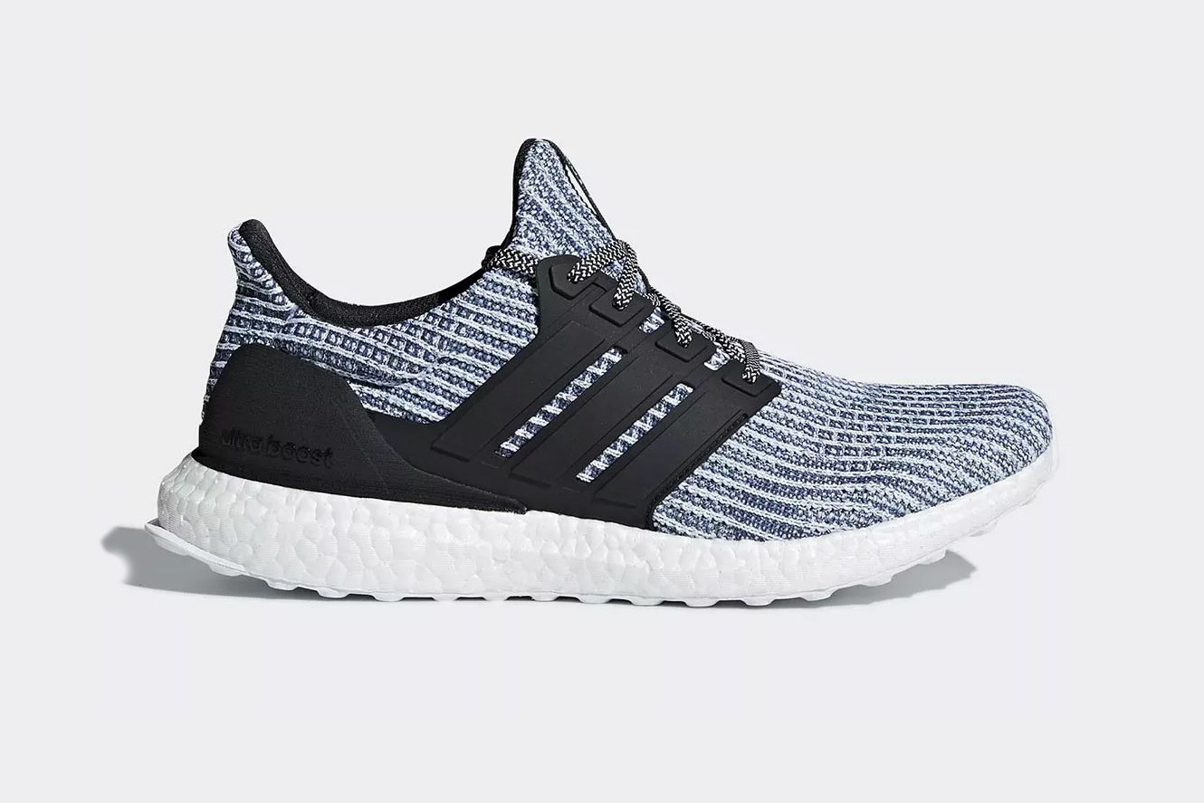 Parley X Adidas Ultraboost 4 0 Quot Carbon Blue Quot Hypebeast