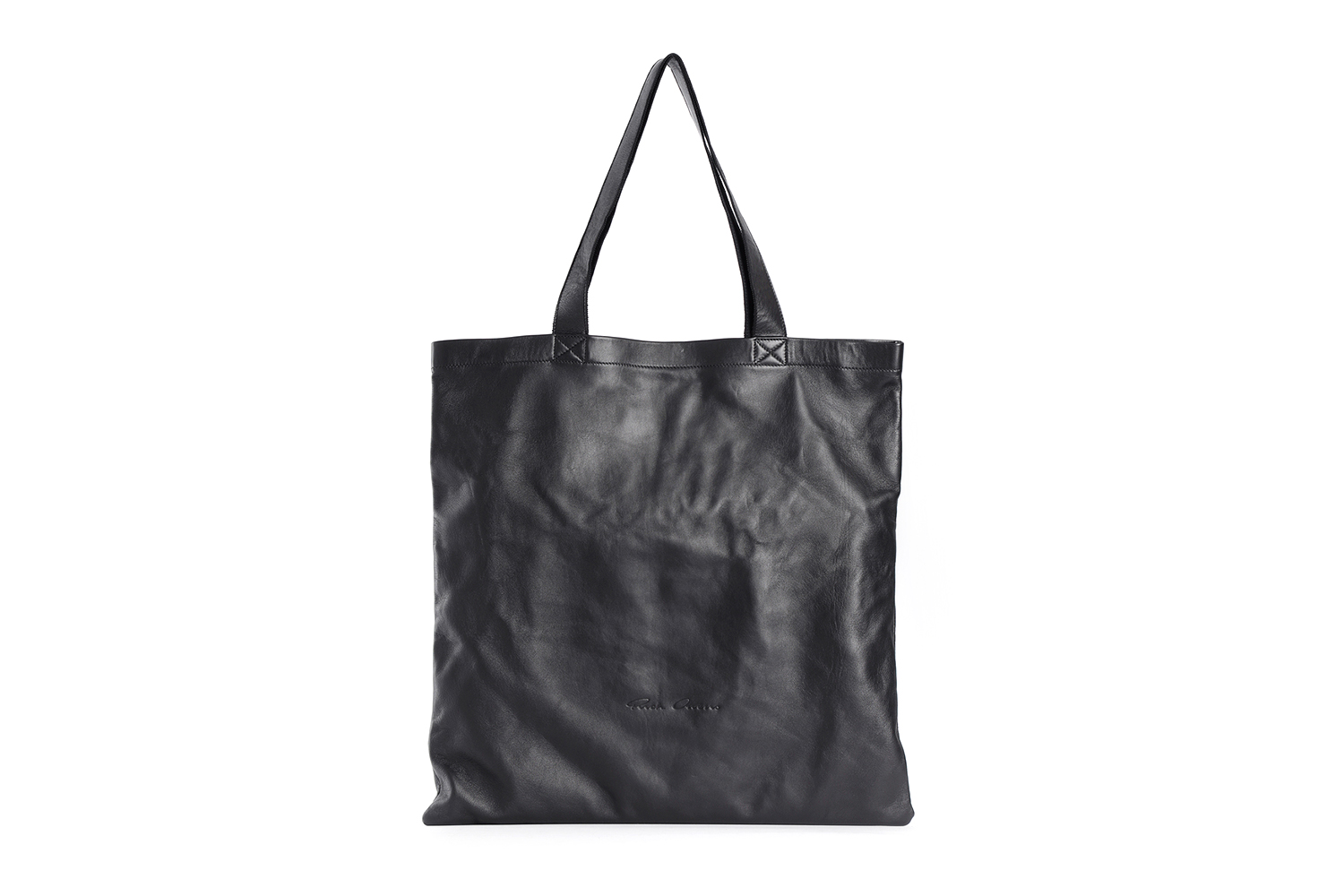 rick owens fall/winter 2018 leather tote bag