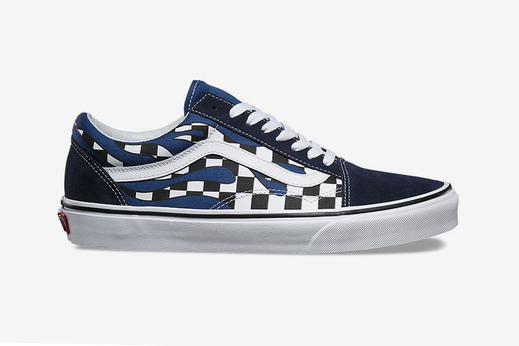 "Vans Old Skool ""Checkerboard Flames"""