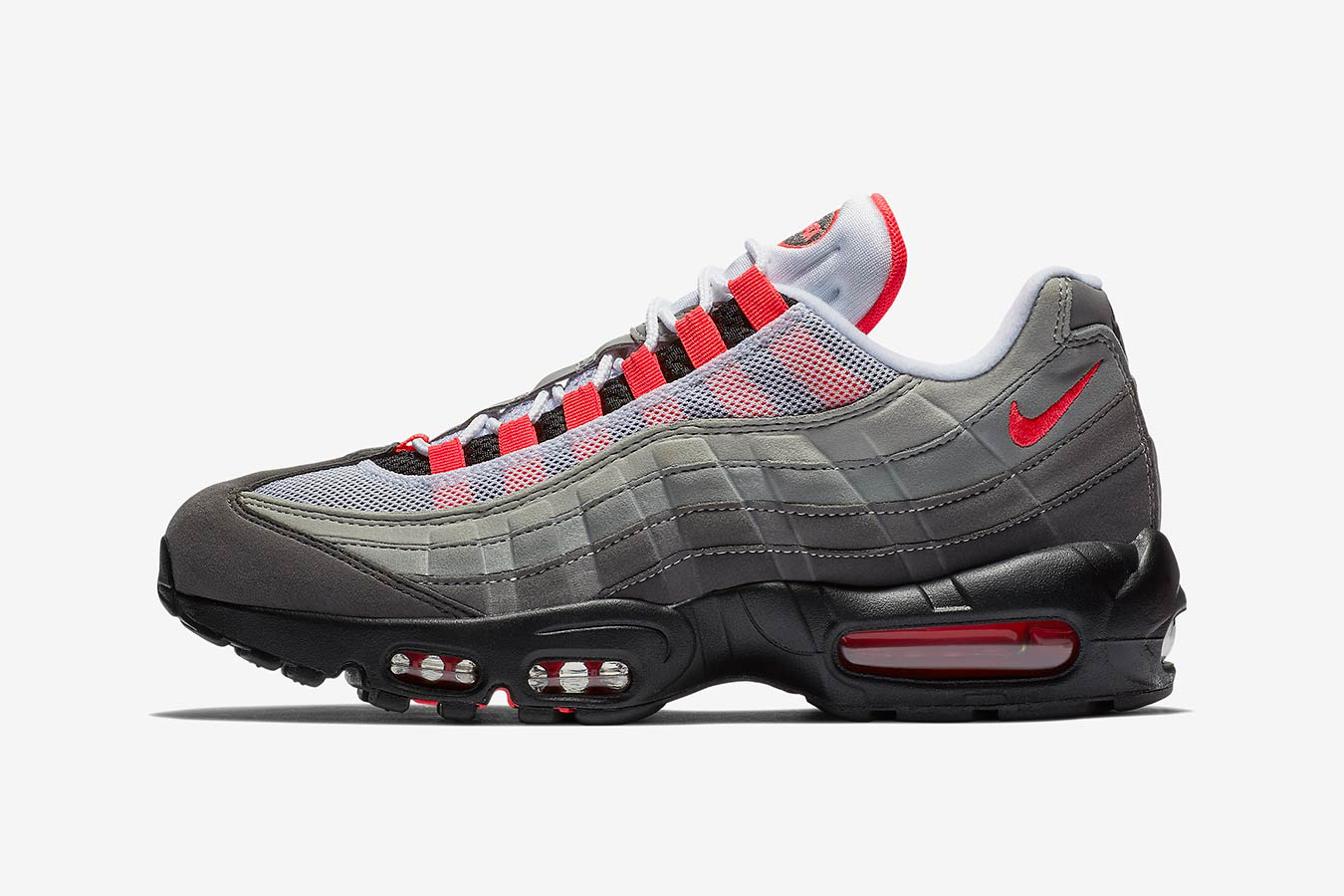 6cba8b4c382768 Nike Air Max 95 OG Grey Solar Red Release Date
