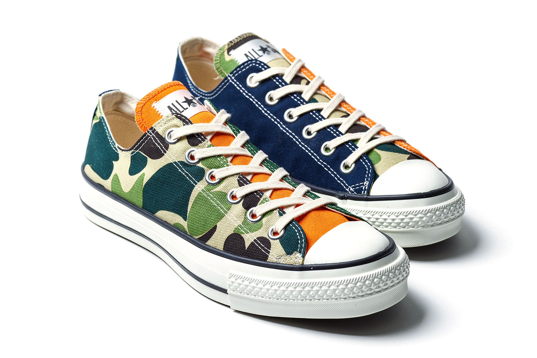Billys X Converse All Star Low Camo Blue Orange Hypebeast Stars Ent J Details Cop Purchase Buy Available New Shoes Trainers Kicks