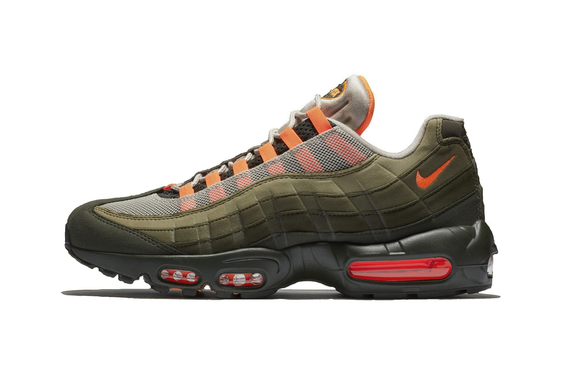 Nike Air Max 95 OG String/Total Orange-Neutral Olive