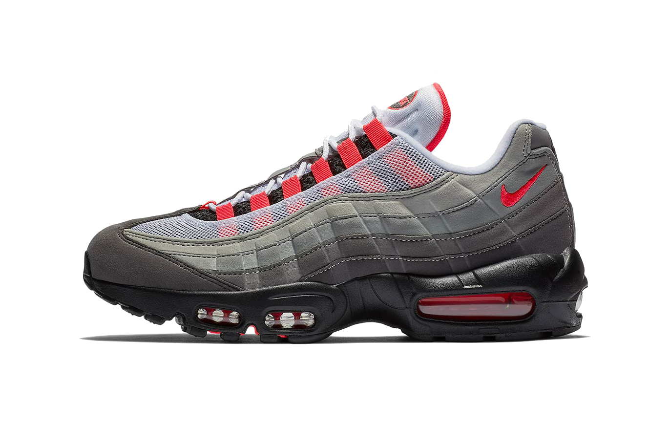 air max 95 grey red