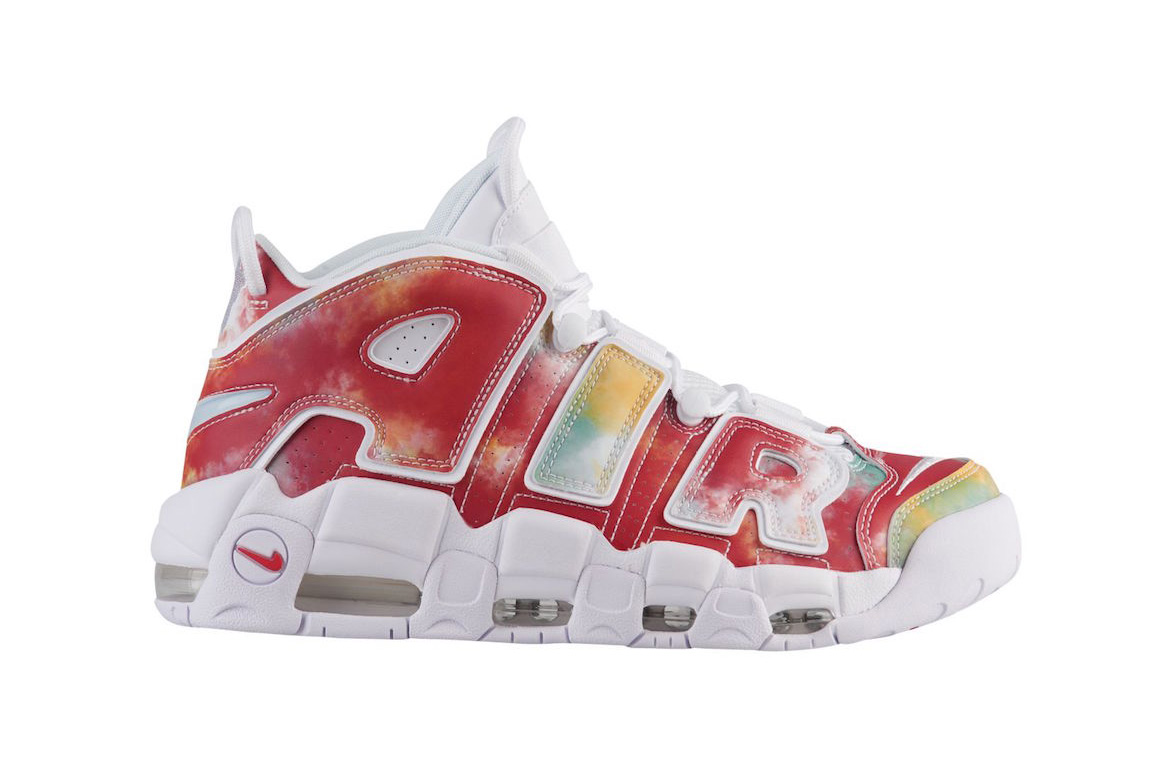 new arrivals 2b234 744d0 nike air more uptempo uk 2018 amarillo speed red neptune green white