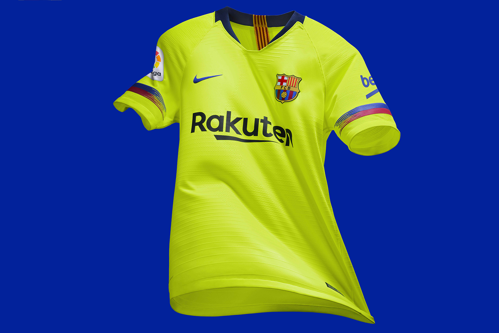 416b5d6c8b2 Nike FC Barcelona Away Kit 2018-19 | HYPEBEAST DROPS