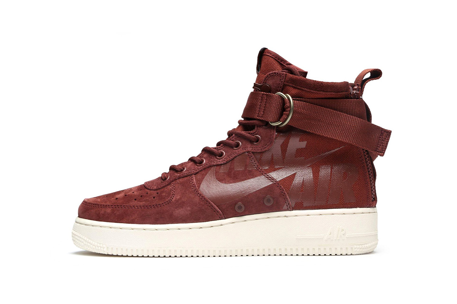 Nike SF-AF1 Mid Burgundy Release info purchase price summer colorway sneaker footwear