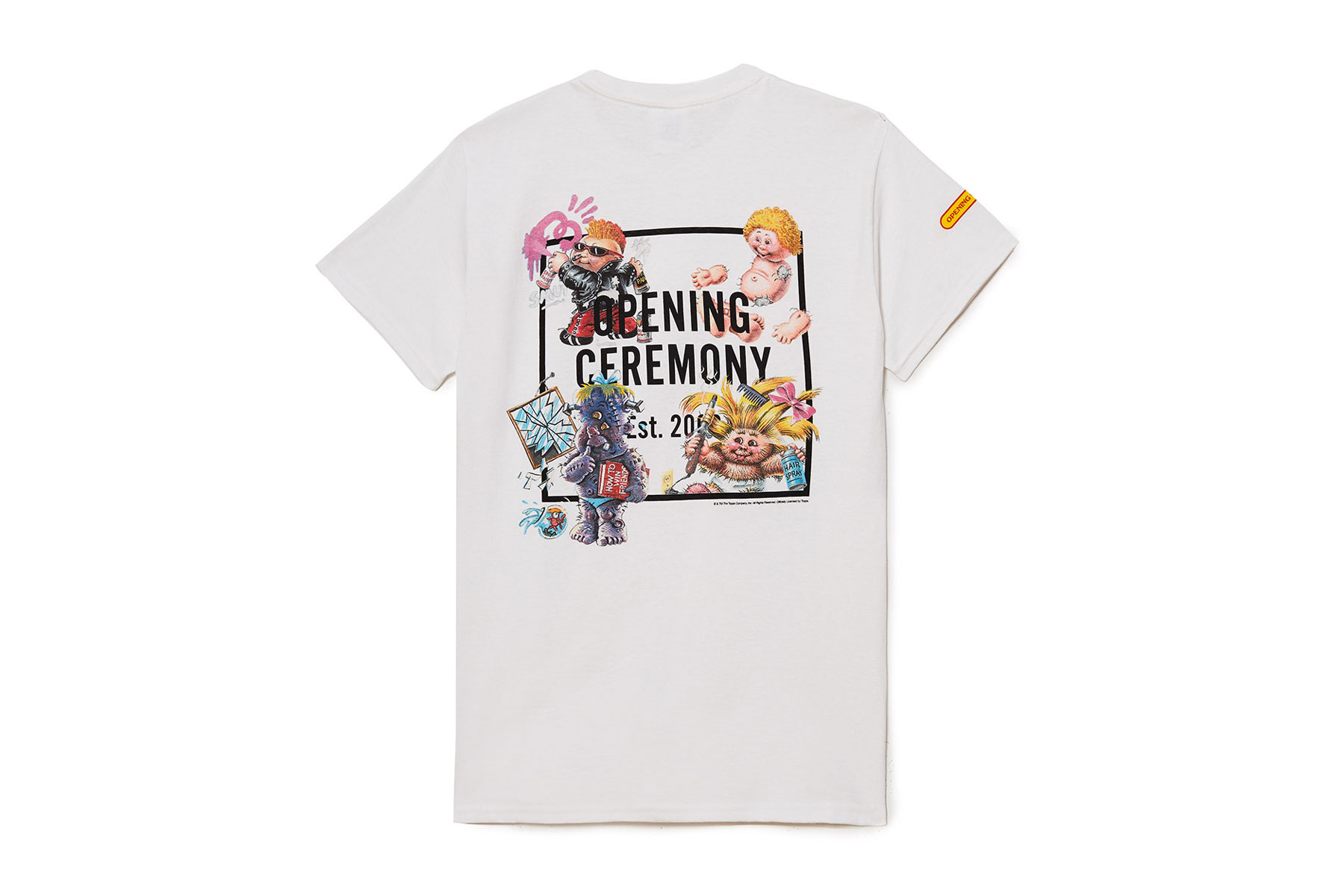 Garbage Pail Kids x Opening Ceremony Collaboration