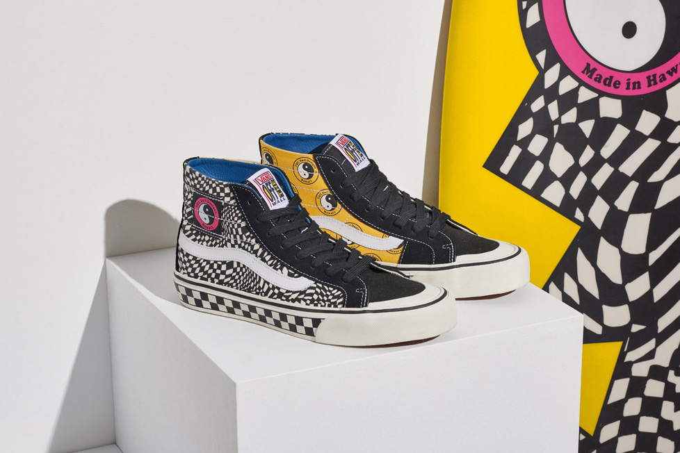 Vans T&C Surf collection collaboration Sk8-Hi Authentic Release Details Footwear Shoes Trainers Kicks Sneakers Available July 2018