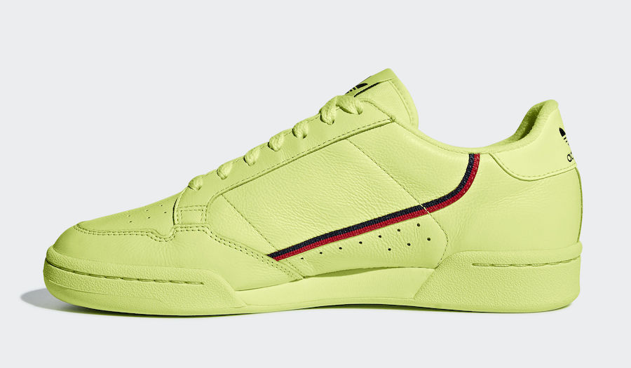 "adidas Continental 80 ""Semi Frozen Yellow"" & ""Clear Pink"""