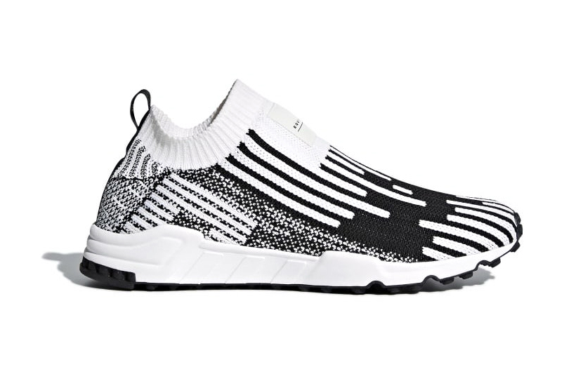 save off b7bfc 01431 adidas EQT Support Sock Primeknit Release Cloud White Core Black