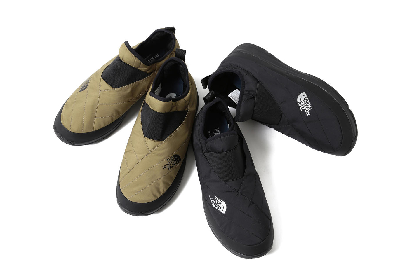 beams BEAMS The North Face Kimono Nuptse Shoes life store footwear slippers olive green black november 2018 drop release date collaboration insulated camp padded japan release date info buy purchase sale sell exclusive