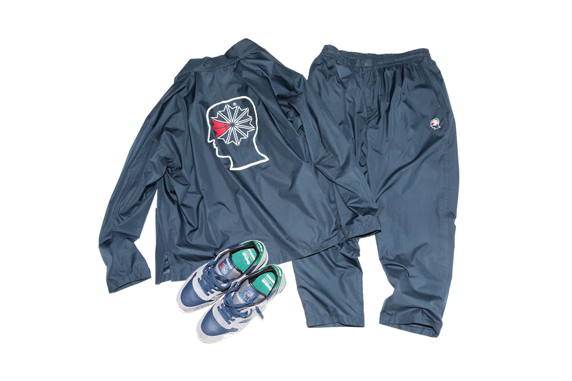 Brain Dead x BEAMS x Reebok Classic Track Suit & Sneakers