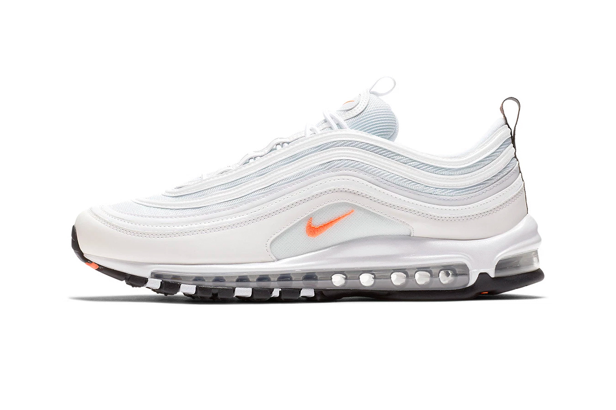air max 97 orange et blanche