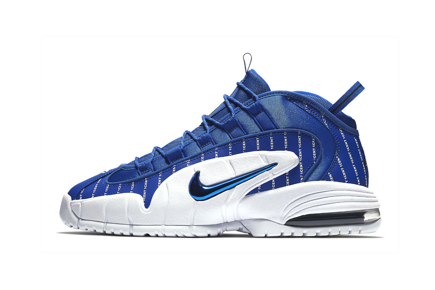 Nike Air More Uptempo + Air Max Penny Pinstripe Pack Release