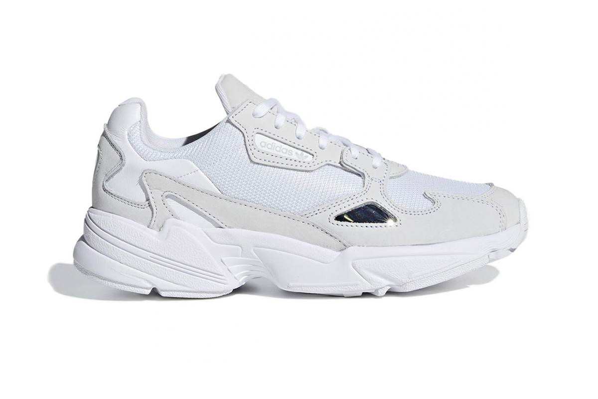adidas Falcon Triple White Cloud Silver Info Release