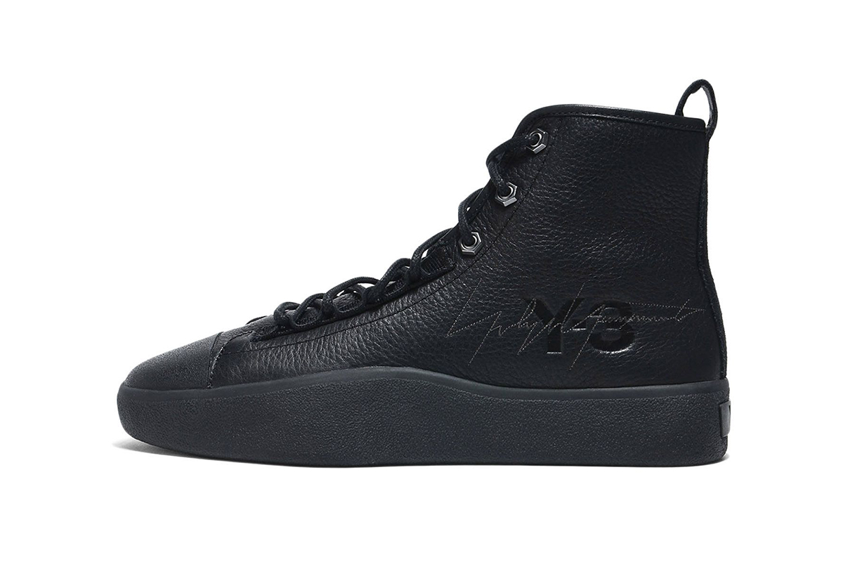 Y-3 Fall Winter 2018 Bashyo II black leather canvas release info adidas yohji yamamoto