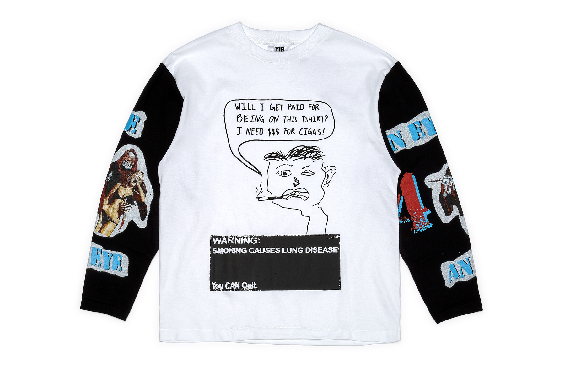 Youths In Balaclava YIB Line apparel collection t-shirts YIB TAPE 1A dsm dover street market