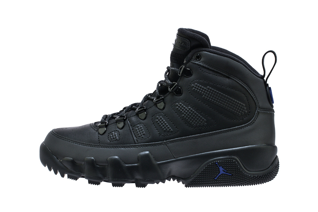 Air Jordan 9 Boot NRG Black &