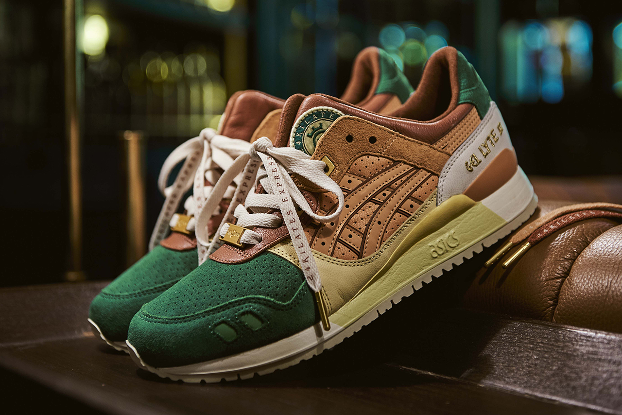 24 kilates asicstiger asics tiger gel lyte iii 3 sneaker footwear trainer release information details first look cop buy purchase stockists 29 september 6 october