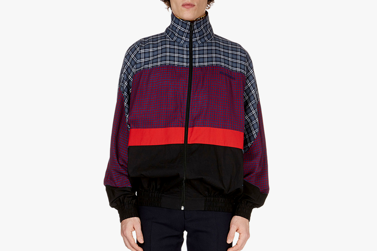Balenciaga Patch-Pattern Anorak