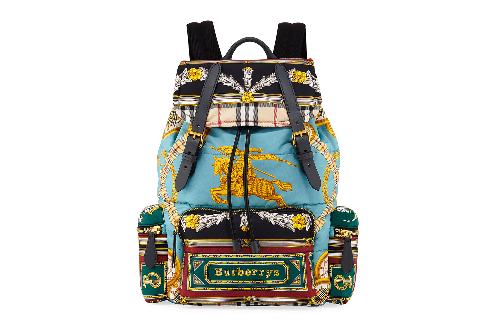 Burberry Archive Scarf Print Backpack
