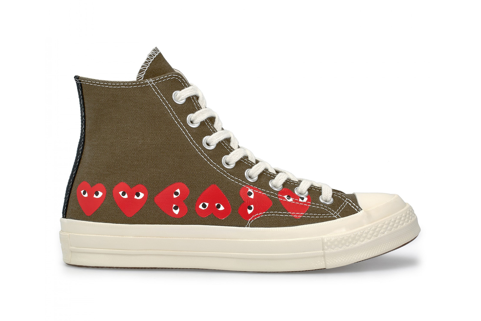 CdG PLAY x Converse Chuck Taylor All Star Date