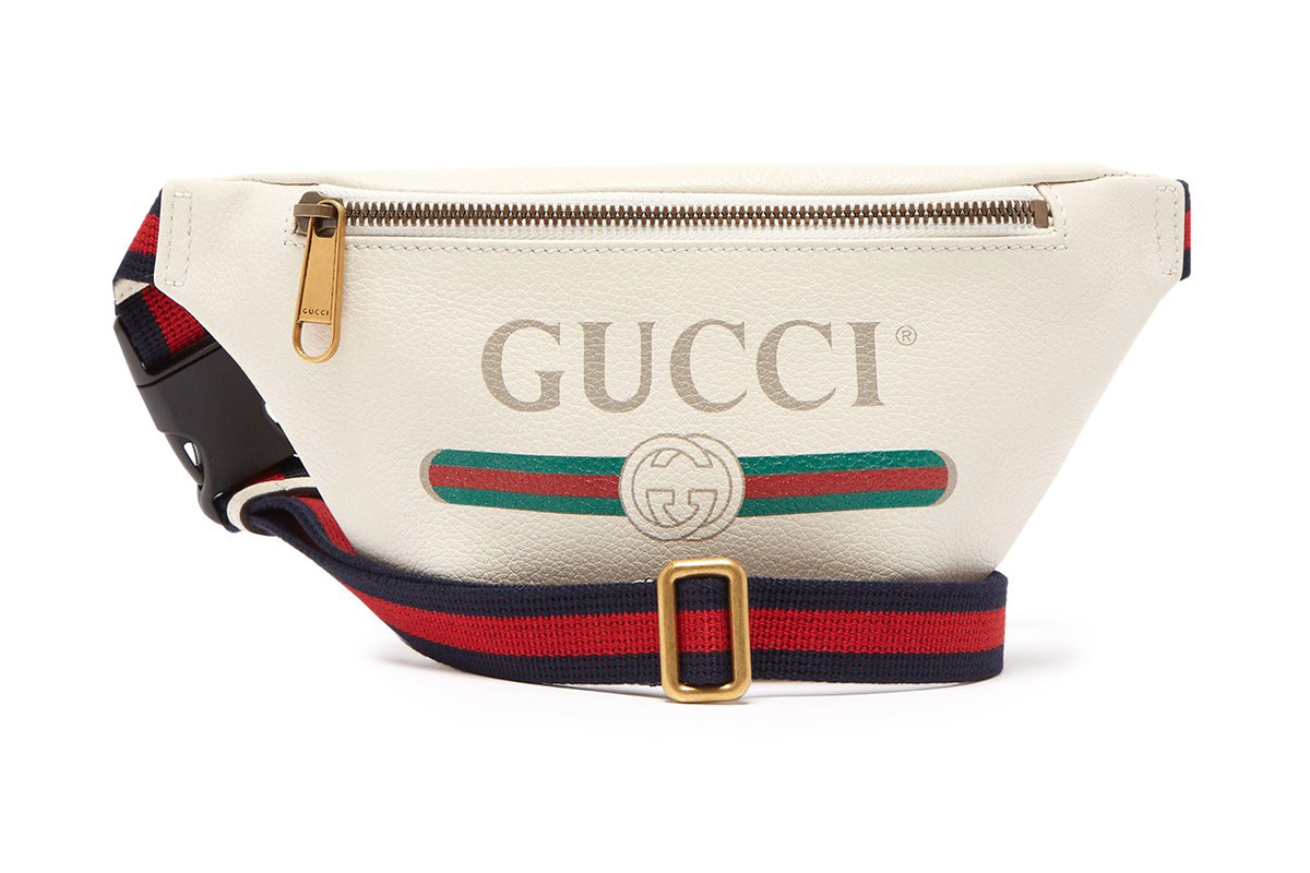 c270c4cec50 Gucci Belt Bag Off-White Leather navy red green GG logo release info bags  accessories
