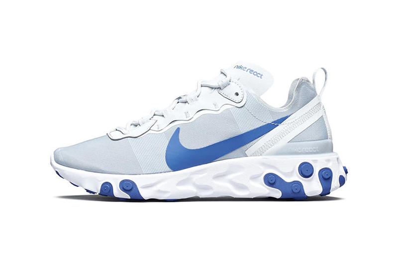 Nike React Element 55 Racer Blue