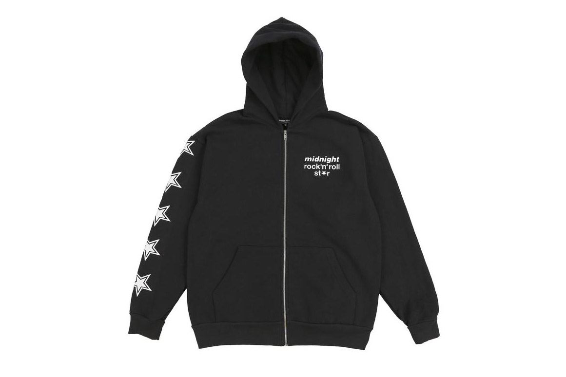 Midnight Studios fall winter 2018 Capsule Collection shane gonzales print black
